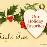 Our Holiday Favorites: Night Tree mylearningtable.com