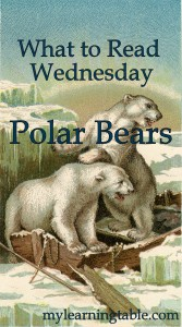 What to Read Link Up: Polar Bears mylearningtable.com