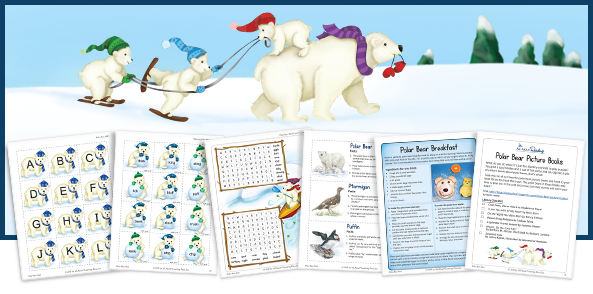 Polar Bear Pack mylearningtable.com
