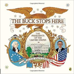 Quality picture books like The Buck Stops Here make learning fun, engage kids in the subject matter, and bridge the ages. Picture books are a great way to get kids interested in a subject that may seem dry and boring in a textbook. What an easy way to gather an elementary, middle, and high schooler together and interest them all in the same topic with the same book!