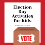 election day activities for kids