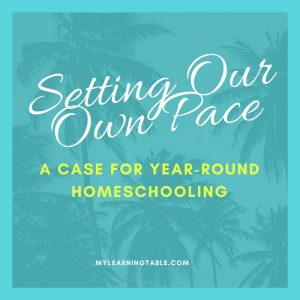 Year-Round Homeschooling