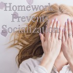 I was discussing homework overload with a friend whose teens attend public school, and he talked about the stress level and lack of downtime their workload causes. If they were in the workforce, his teens would be putting in much more than a full timeworkweek. It's like the child labor laws are being violated by the abundance of homework the kids are responsible for.