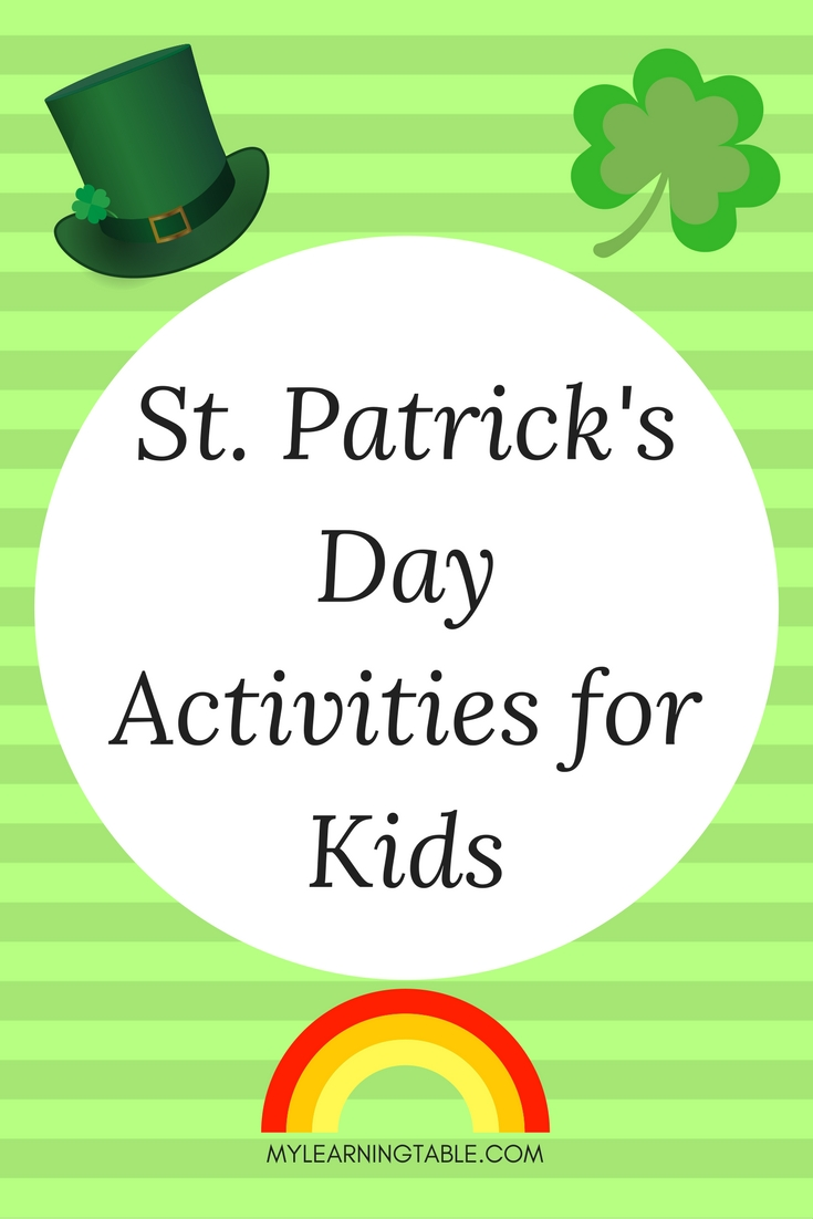 St. Patrick's Day is just around the corner! I don't know about you, but my kids love to get into the green spirit and celebrate this day. They look forward to a day that's all about magic and fun. To keep the theme going, I like to add some special holiday food and crafts for them to enjoy.