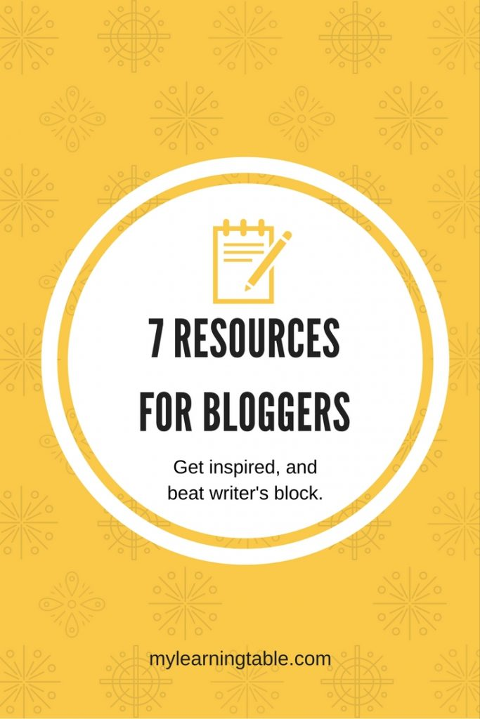 How to survive writer's block and navigate all the techy stuff of blogging.