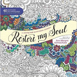 Restore My Soul Adult Coloring Book mylearningtable.com