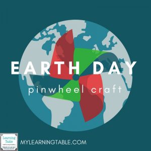 easy earth day pinwheel craft for kids