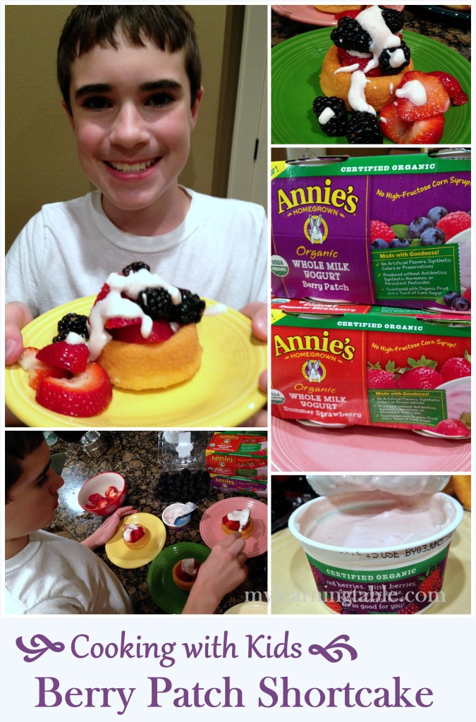 Berry Patch Shortcake: Cooking with Kids mylearningtable.com