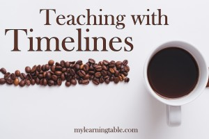 Timelines are a wonderful way to teach history, literature, science, art, and music. Find out how easy they are to incorporate into your homeschool learning.
