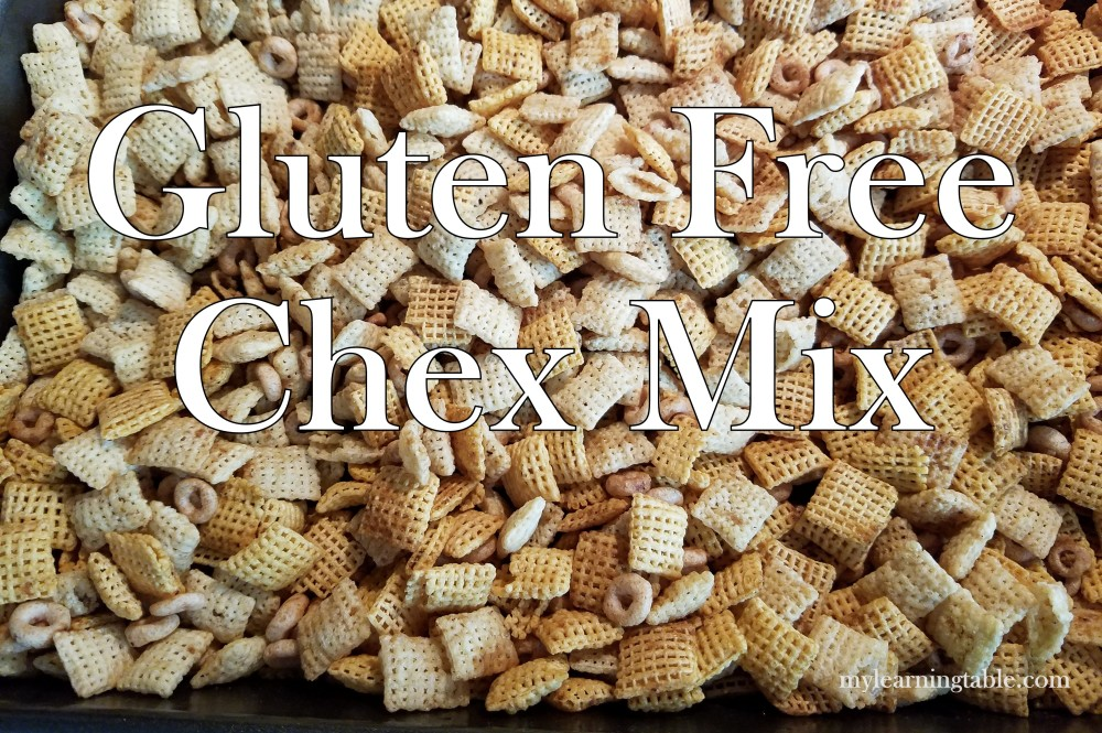 Gluten Free Cereal Snack Mix mylearningtable.com