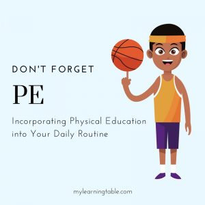 Don't Forget PE