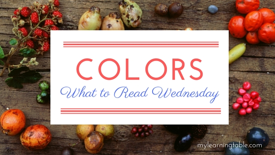 What to Read Link Up: Color Books for Kids mylearningtable.com