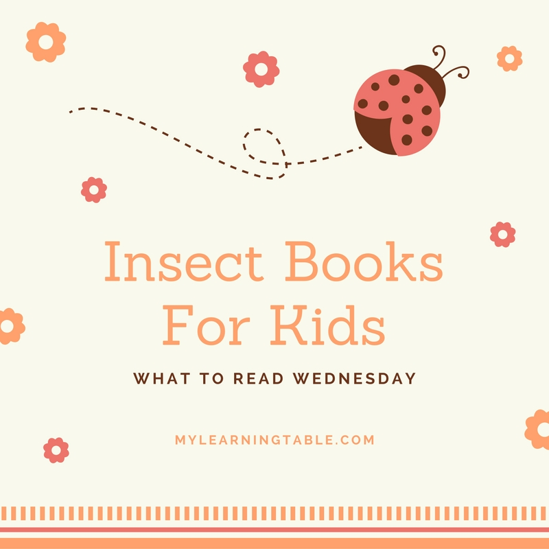 Insect Books For Kids mylearningtable.com