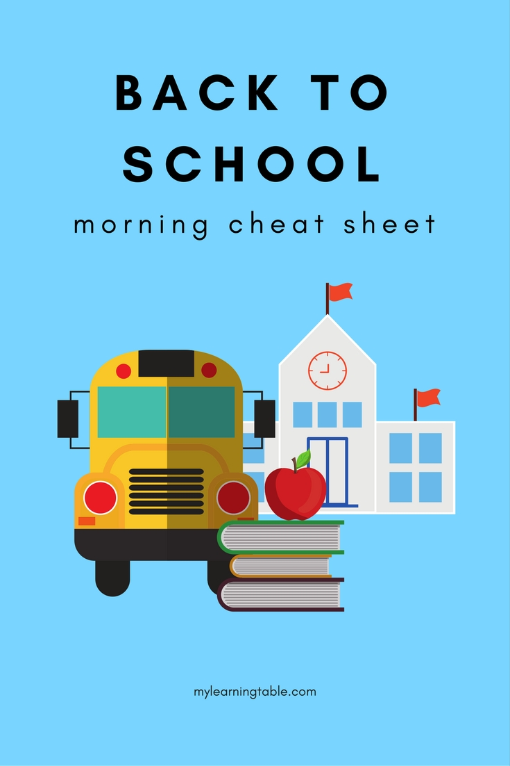 My favorite tips for easier school mornings.