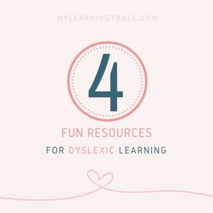 4 Fun Resources for Dyslexic Learning
