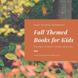 The best fall books for kids -- fall themed children's books for the homeschool library -- preschool, elementary literature list.
