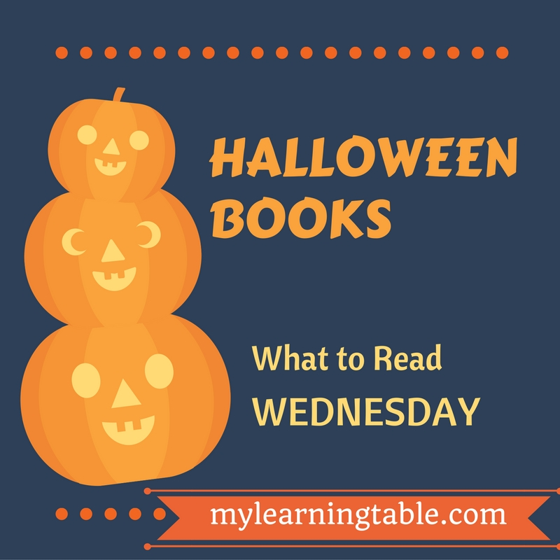 Halloween Books for Kids mylearningtable.com
