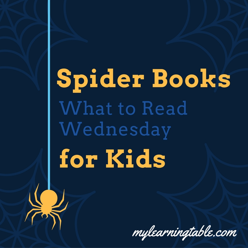Spider Books for Kids mylearningtable.com