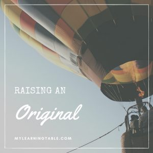 Raising An Original