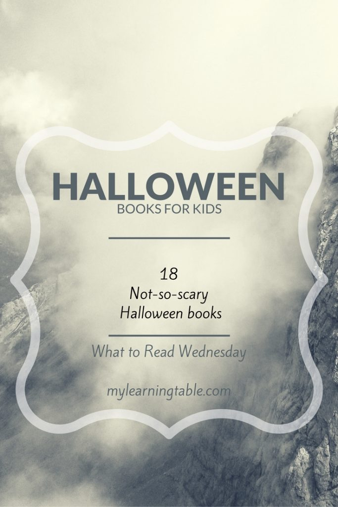 Fun, not scary, Halloween books to share with kids of all ages.