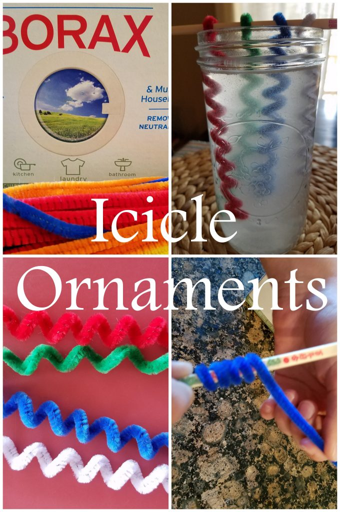 Icicle Ornaments mylearningtable.com