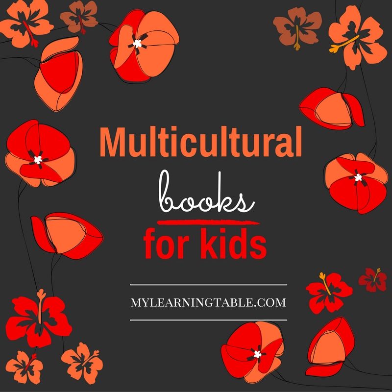 Multicultural Books for Kids mylearningtable.com