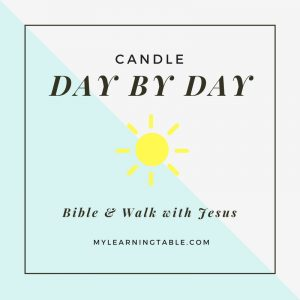 Candle Day by Day Bible & Candle Day by Day Walk with Jesus