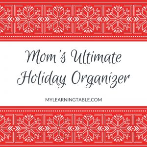 Mom's Ultimate Holiday Organizer