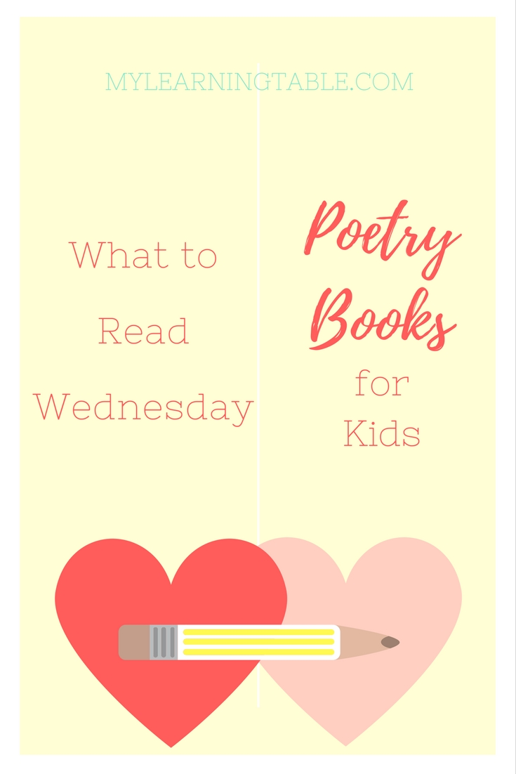 Poetry Books for Kids Free Printable Activity mylearningtable.com