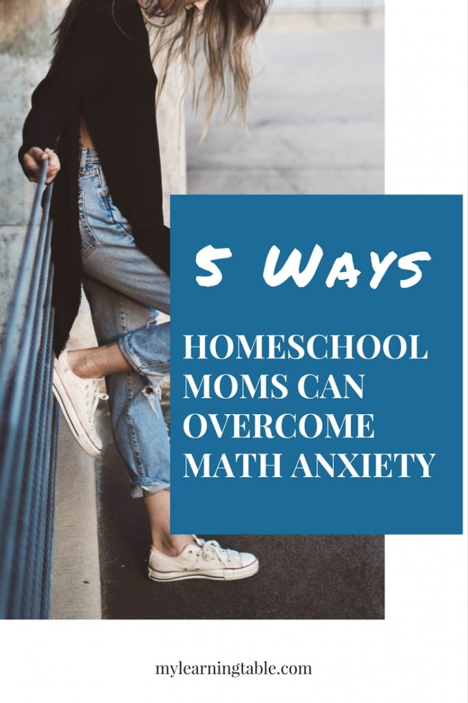 I have found five ways to overcome math anxiety that have made my homeschooling days flow more smoothly, and I'm here to share these tips with you!