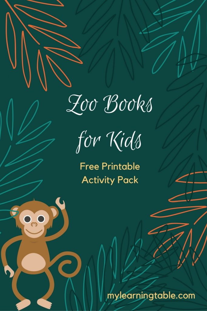The Best Zoo Books for Kids and FREE Printable Pack with Library Checklist, Story Starter Cards, and Notebook Page