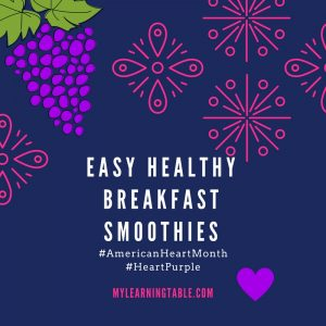Easy Healthy Breakfast Smoothies
