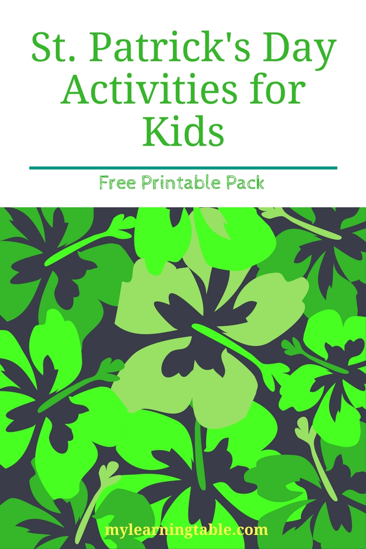 Preschool Color Discovery Activity Pack – Learning Table