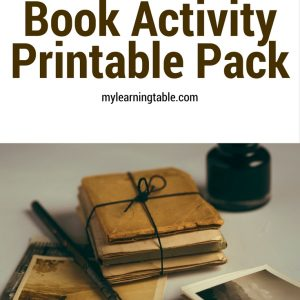 Free Download: Book Activity Printable Pack mylearningtable.com