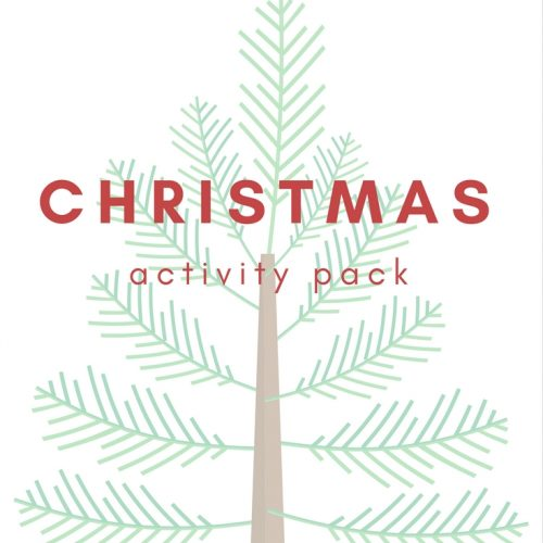 Free printable Christmas activity pack for kids, includes copywork, book list, notebook pages, coloring pages, and reindeer food recipe. Elementary, homeschool, holiday.