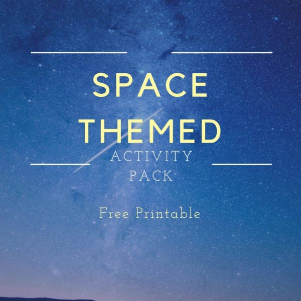 This space themed activity pack is perfect for elementary ages and ties the space theme in with your language arts curriculum. Free story starter cards, library checklist, and space themed notebook pages.