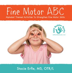 A Picture Is worth a Thousand Words: Fine Motor ABC mylearningtable.com