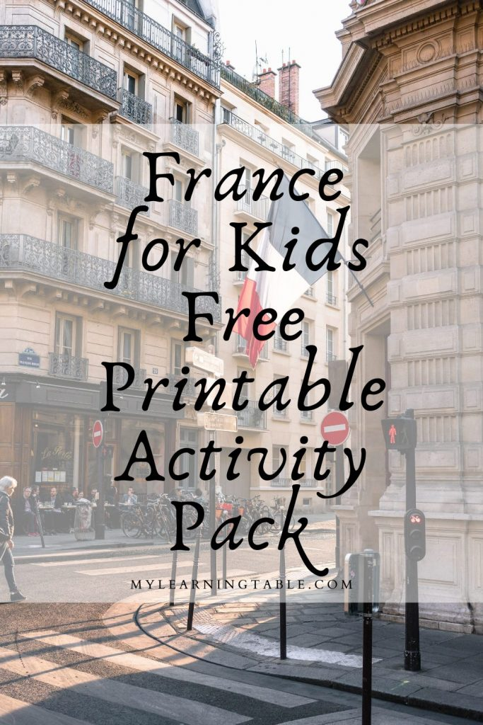 Free France for Kids Activity Pack