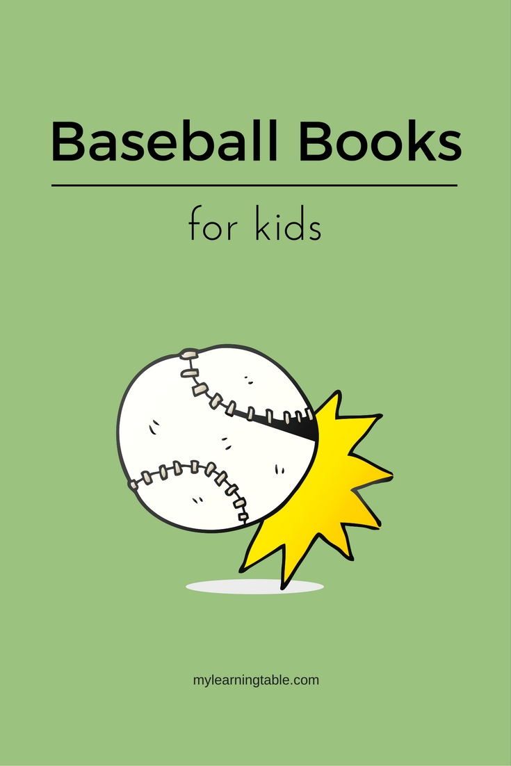 The best baseball themed children's books for homeschool unit study -- mylearningtable.com