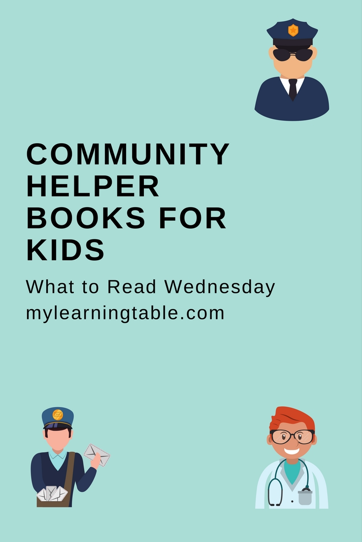 Ideas for community helper books for kids, teaching, early learning