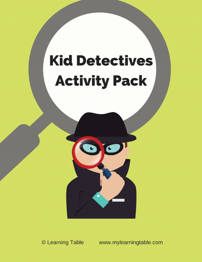 Kid detectives will love trying out their super-sleuthing skills as they hunt through the house for clues in this alphabetical scavenger hunt activity. They will also practice using alphabetical order to organize things. Plus, there is a library checklist of detective books for kids, and a mystery-writing activity (Elementary, Middle)