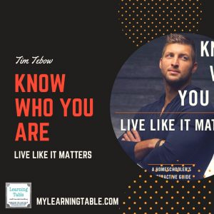 Know Who You Are: Live Like it Matters