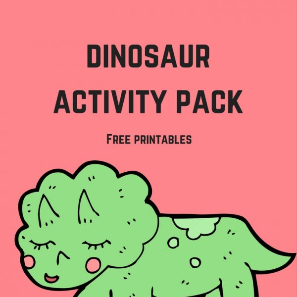 This printable activity pack includes a dinosaur books for kids library checklist, dinosaur coloring pages, dinosaur writing prompts, and dinosaur themed notebook pages. (Elementary, Middle)