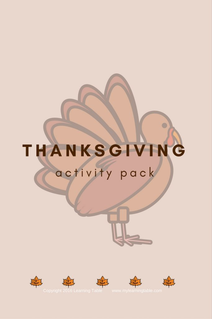 This printable activity pack includes Thanksgiving book lists, writing prompts, Thank You Note and Persuasive Letter activities, craft ideas, and Thanksgiving themed notebook pages and templates. (Preschool, Elementary, Middle)