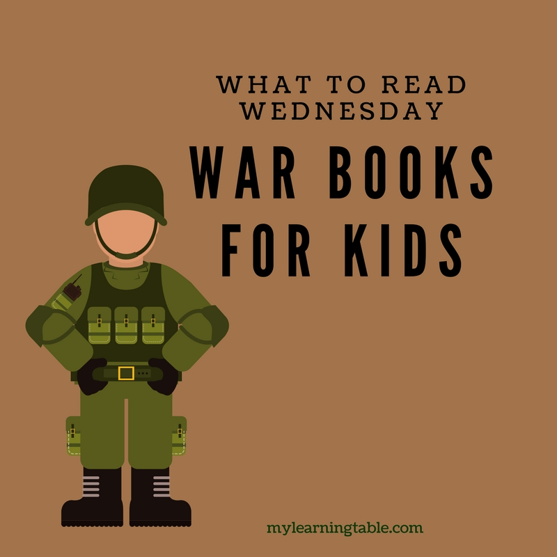 The best war books for young kids: children's picture books about war; unit study ideas; homeschool.