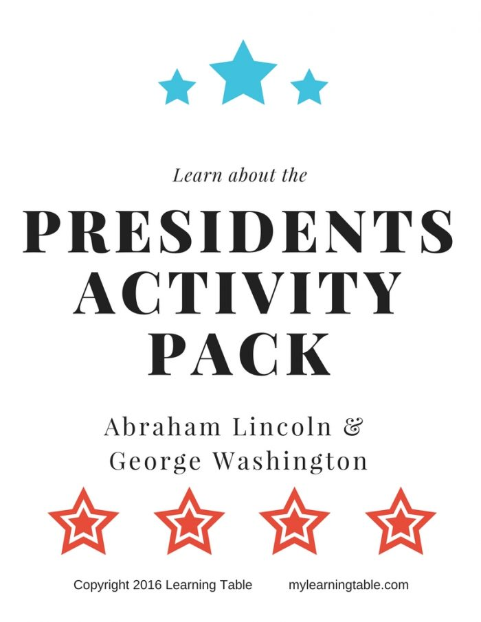 This activity pack is perfect for celebrating George Washington's Birthday, Abraham Lincoln's Birthday, and President's Day. It includes library checklists for books about Abraham Lincoln and George Washington, Fact vs. Opinion activity, Venn Diagram activity, copywork, and notebook pages. (Elementary, Middle)