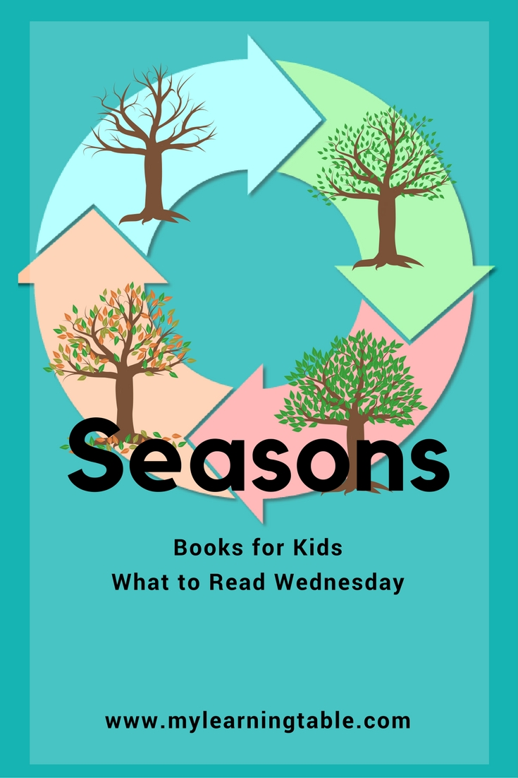 The best seasons books for kids, homeschool unit study resources and ideas.