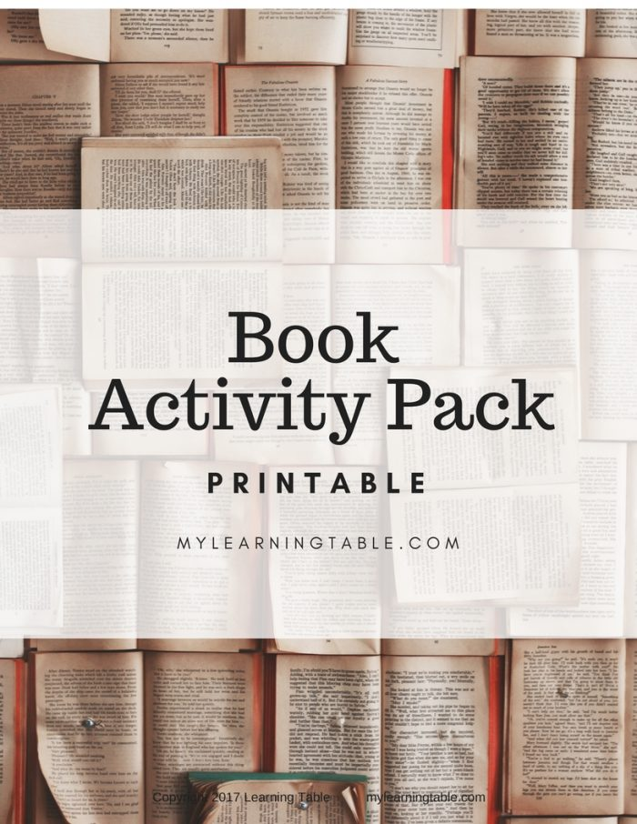 This printable pack includes Books About Books Library Checklist, Learn the Parts of a Book, Book Report Form, Library Scavenger Hunt, and Reading List Notebook Page. (Elementary, Middle School)