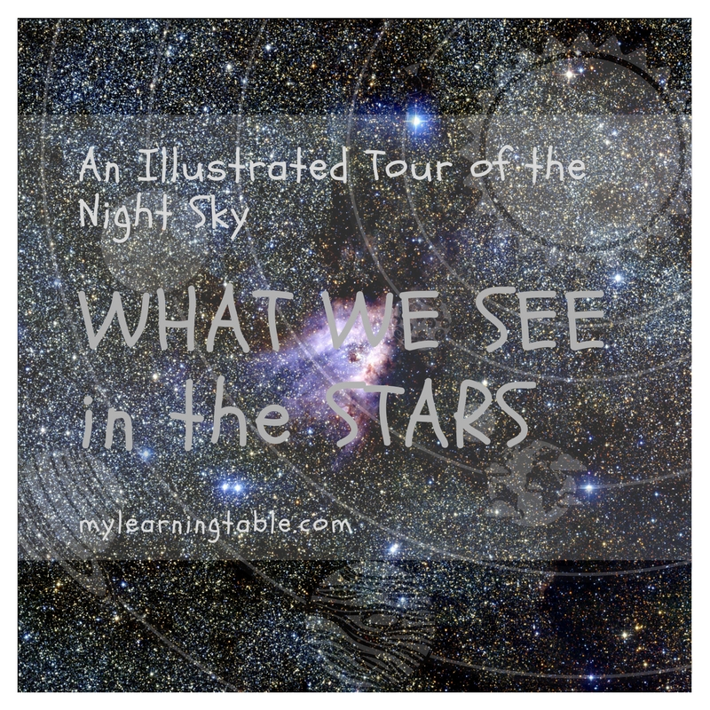 What We See in the Stars is a fun addition to homeschool science curriculum that will bring astronomy to life for your young learners.