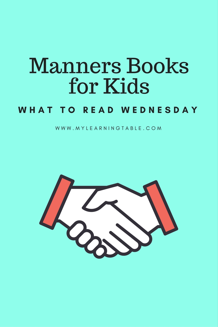 The best manners books for teaching etiquette to kids, homeschool, unit study ideas.